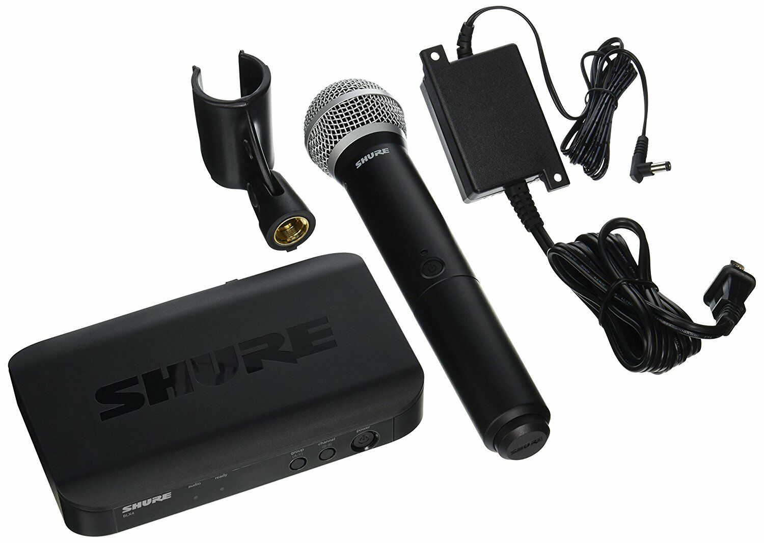NEW Shure BLX24 PG58-H9 Wireless System & PG58 Mic H9  512 -542 MHz MICROPHONE