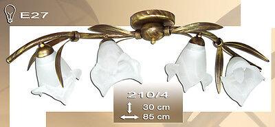 NEU Deckenlampe Deckenleuchte 4 flammig Lampe Leuchte Halm 210-4 Top Design