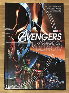 Avengers Rage of Ultron Marvel Deluxe OHC OGN Hardcover RARE OOP Remender Opena