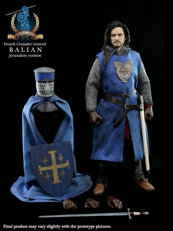 PANGAEA French Crusader Knight General Balian Jerusalem Version 1 6 Figure