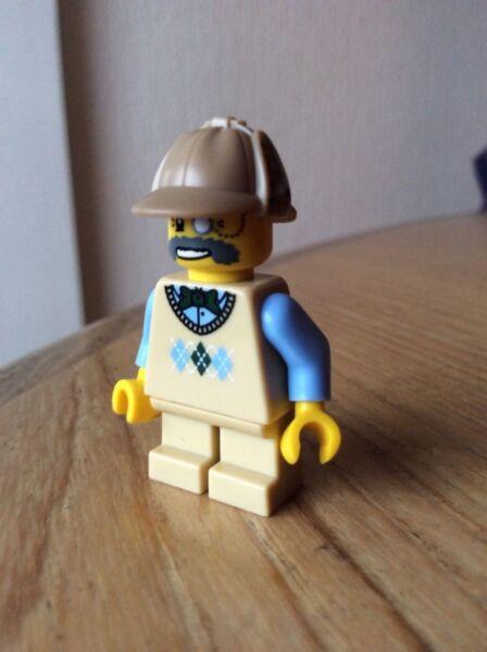 100% Vrai Lego Mini Figure Ecossais Laird Du Manoir, Courte Jambe. Excellente Qualité