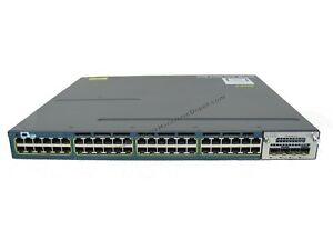 Cisco-WS-C3560X-48PF-S-48-Port-POE-Switch-w-C3KX-NM-10G-1-Year-Warranty