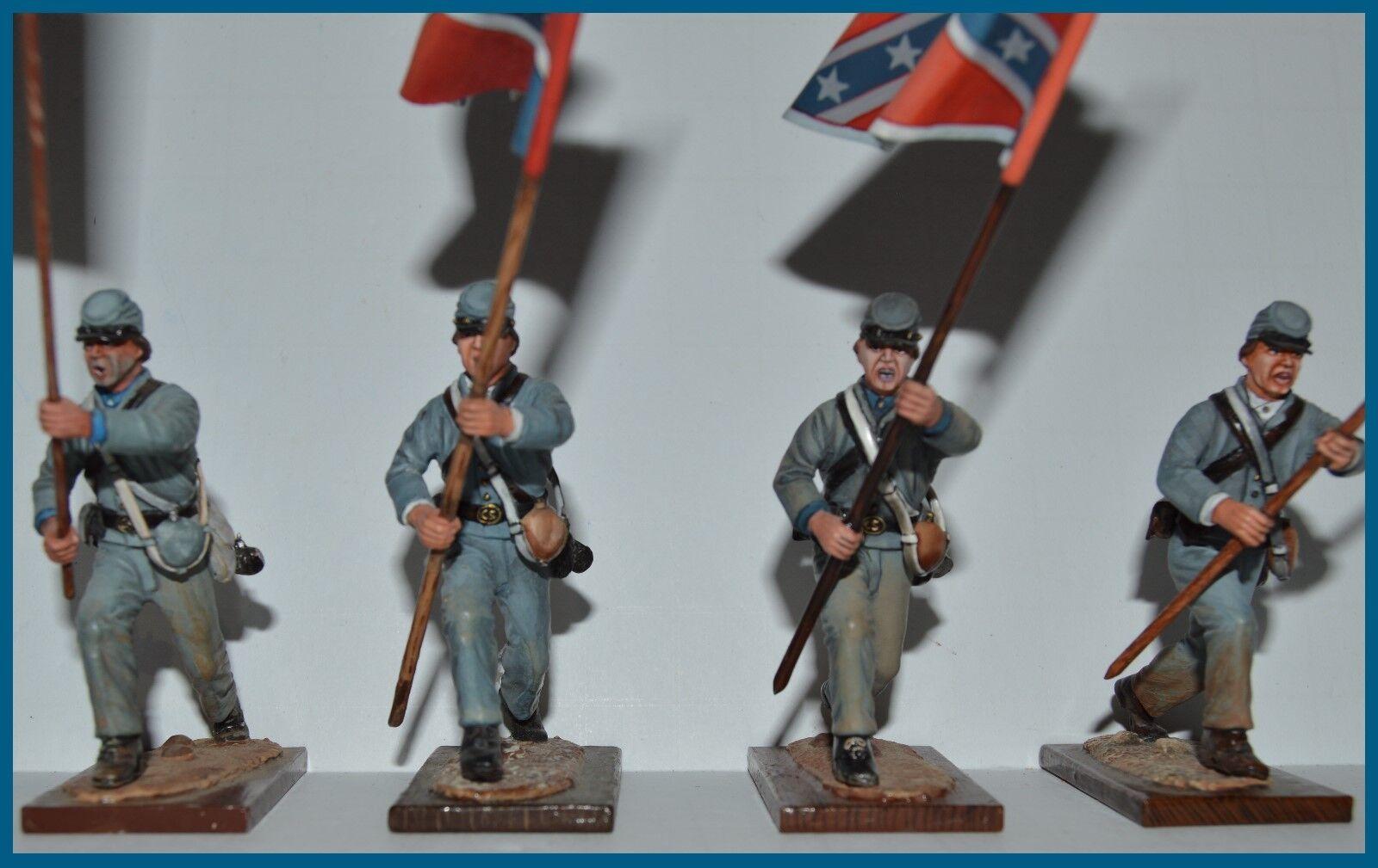 AeroArt St. Petersburg Collection  Flag Bearers - Lot of 4 Figures 54MM