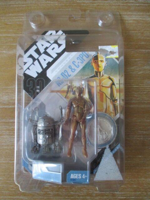 Star Wars R2-D2 & C-3PO Concept Figures R. McQuarrie Signature Series 2007