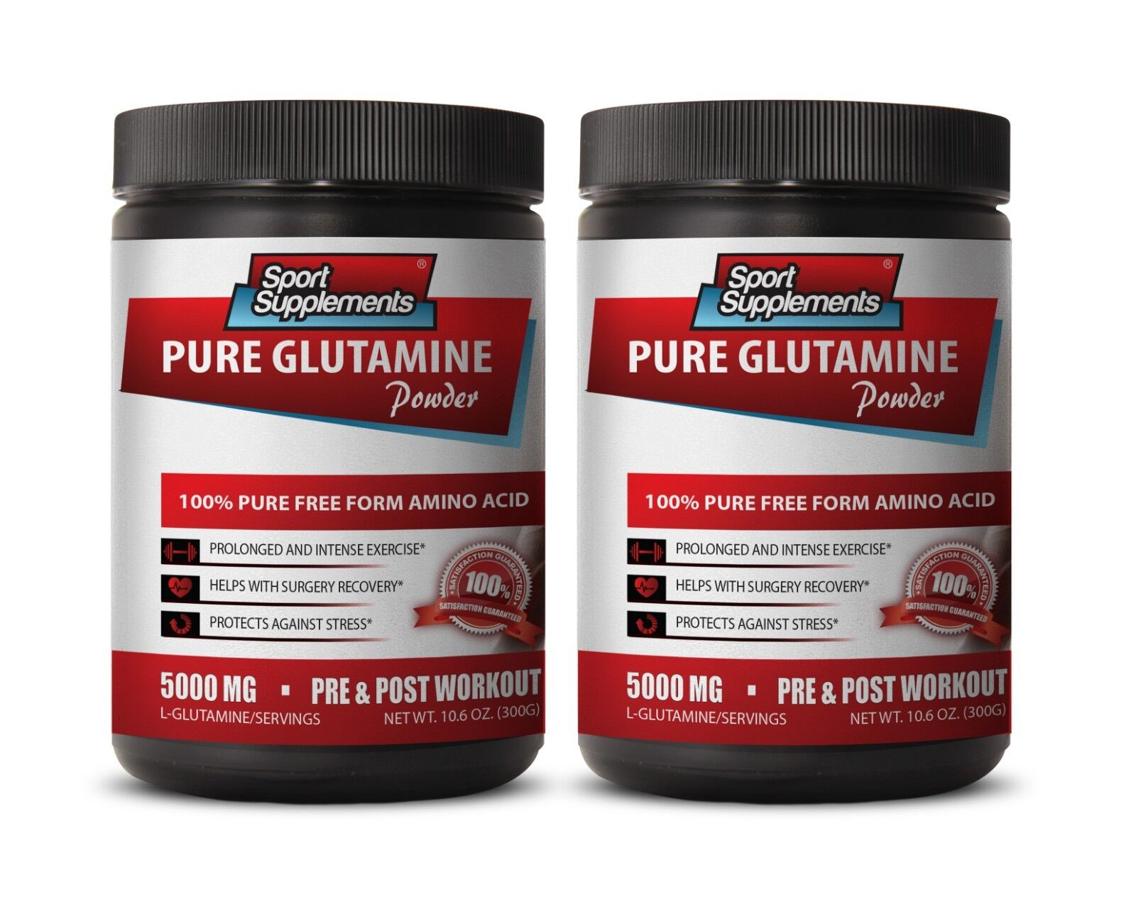 Nitric Oxide Oxide Oxide - Pure Glutamine Powder 5000mg -  Improved Mental Clarity & Focus 2 a700bd