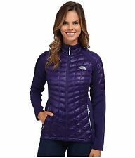 THE NORTH FACE MOMENTUM THERMOBALL HYBRID JACKET PURPLE MEDIUM