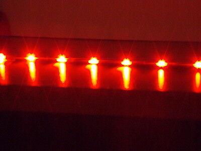 2x 60cm RED ULTRA THIN Audi R8 flexible led strip side lights drl