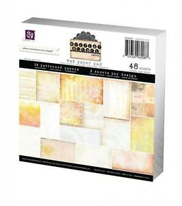"Prima #960087 ""Sunrise Sunset"" 6""x6"" Paper Stack 48 Sheets ..."