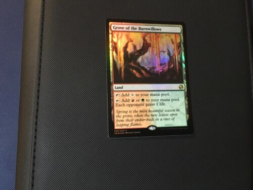 MTG Grove of the Burnwillows FOIL English Near Mint Iconic Masters