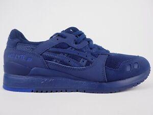 Iii da casual ginnastica 4949 Scarpe H7n3n Lyte con Gel Asics scuro blu lacci Yq4Ax