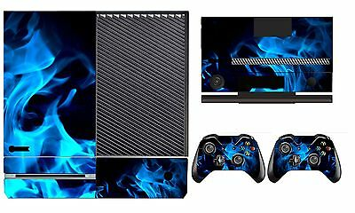 Sweet-Tempered Fire 261 Vinyl Cover Skin Sticker For Xbox One & Kinect & 2 Controller Skin Video Game Accessories Video Games & Consoles