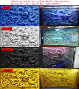 100cm X 50cm 3d Chinese Dragon Fish Tank Background Aquarium