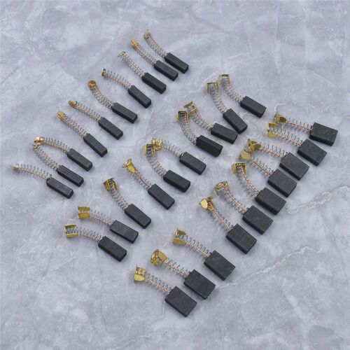 10Pcs 20mm Motor Carbon Brushes Springs Power Tool Mechanical Electric Universal