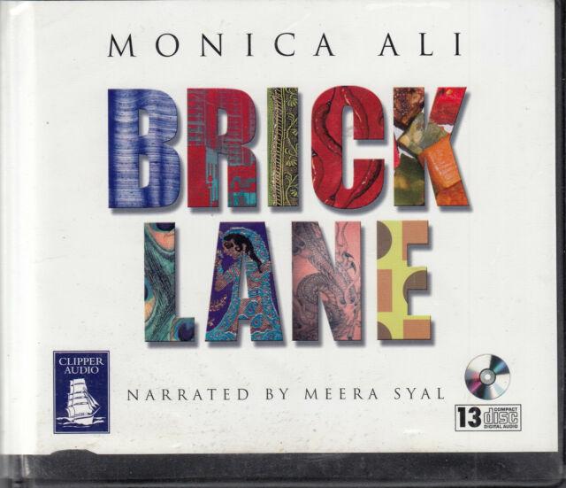 Monica Ali Brick Lane 13CD Audio Book Unabridged Meera Syal FASTPOST