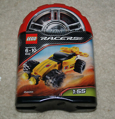 100/% complete + instructions 8122 Desert Viper LEGO Racers Tiny Turbos