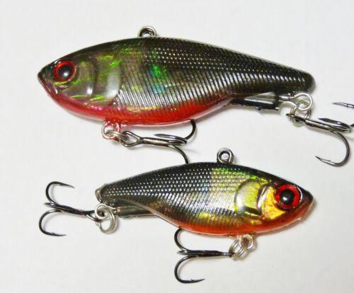 45mm 12g Soft Vibe custom UV colours mask lure Bream Bass FREE SHIPPING green