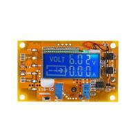 5A 6-32V DC-DC Adjustable Step-Down Power Supply Module Volt Current LCD S8F3