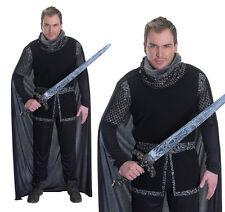 Mens Sherrif Of Nottingham Fancy Dress Costume Robin Hood Outfit New