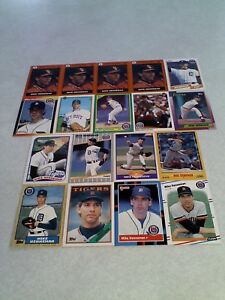 Mike-Henneman-Lot-of-50-cards-42-DIFFERENT