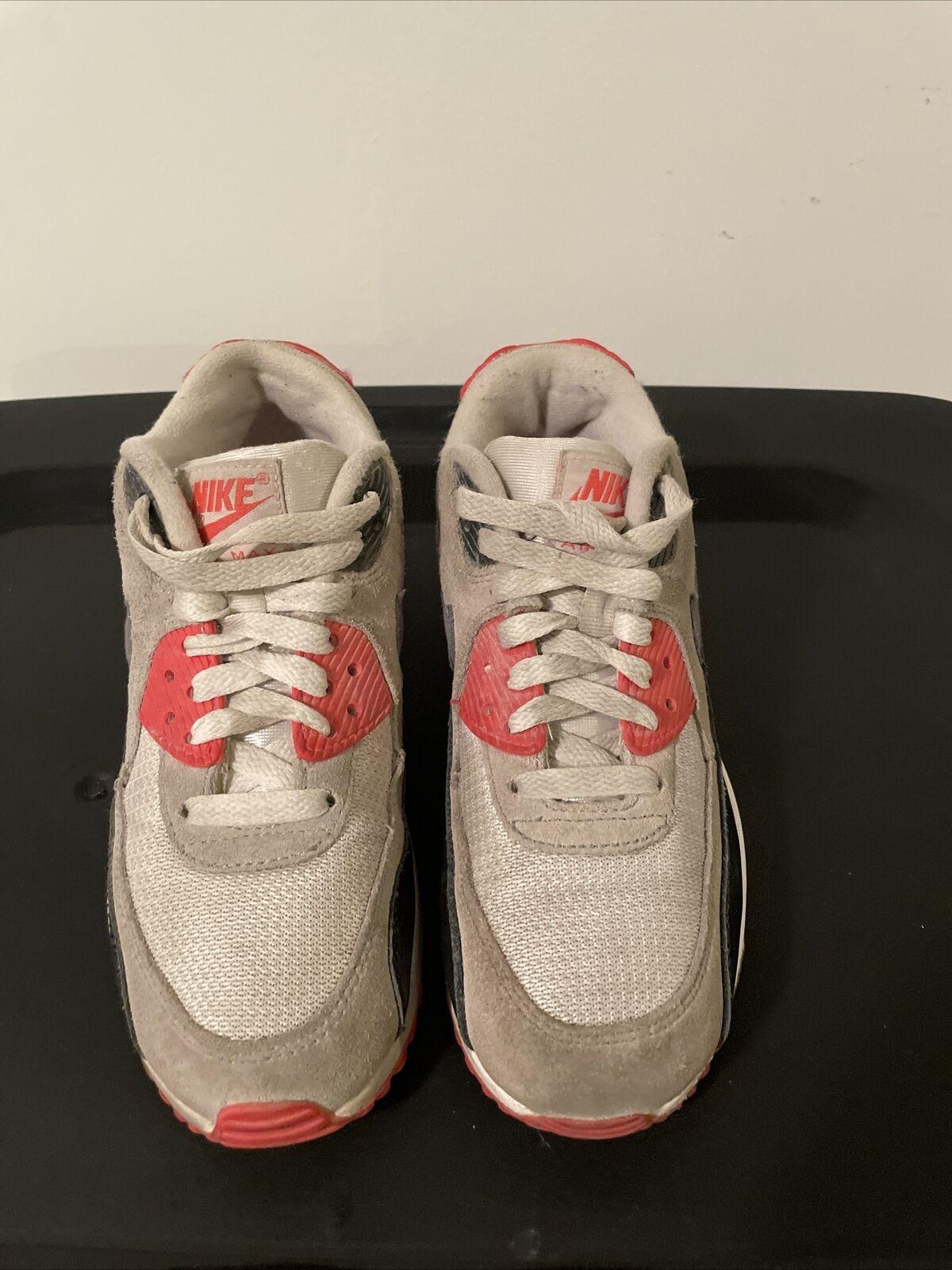 Nike Air Max 90 Premium Mesh GS Youth Shoe Size 6y 724882-100 ...