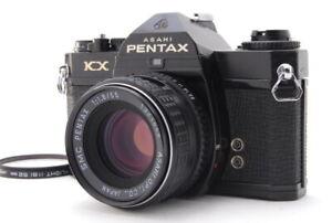 034-exc-5-034-Pentax-KX-Black-35mm-SLR-Film-Kamera-Body-mit-SMC-55mm-f-1-8-Objektiv-d120