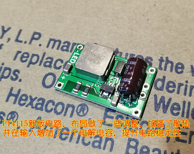 1A PT4115 6-30V input Step-down Constant Current Driver LED Driver Board