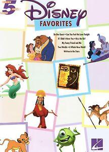 Klavier-Noten-Disney-Favorites-Anfaenger-sehr-leicht-ANFANGER-5-Finger