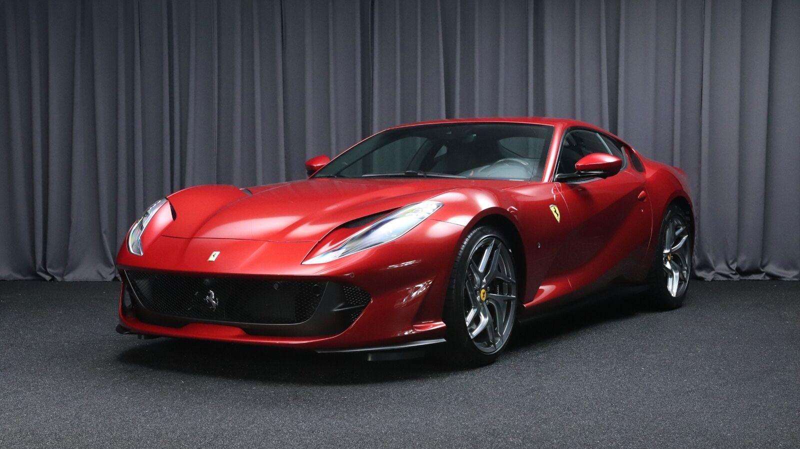 Ferrari 812 Superfast 6,5 DCT 2d - 2.128.726 kr.