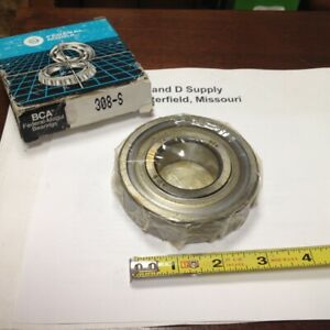 6308-RS1 Radial Ball Bearing Double Sealed Bore Dia 40mm OD 90mm Width 23mm