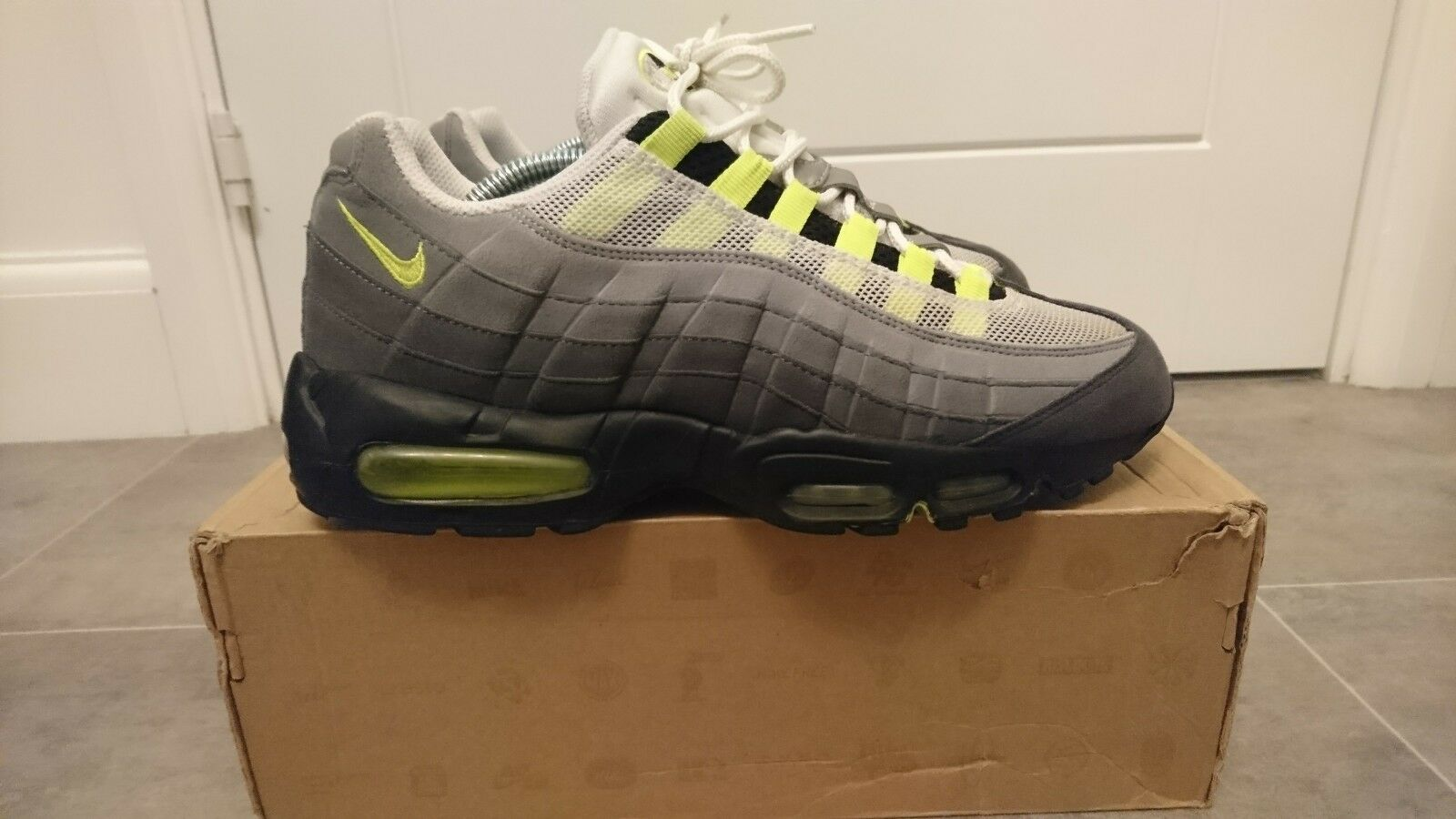 Nike air max 95 95 95 OG uk Größe 8.5 uk 3m TN bw classic 93 180 87 90 98 neon ⚡ volt 44ec74