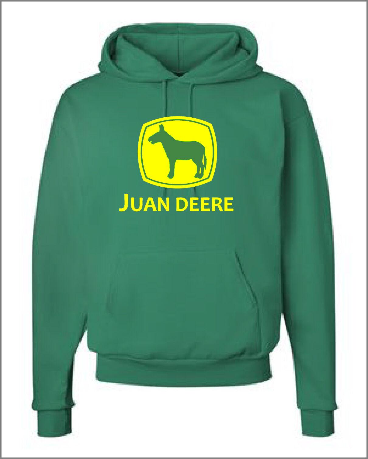 Juan Deere Funny Hoodie schweißhemd John landscaping landscaper tractor lawnmower