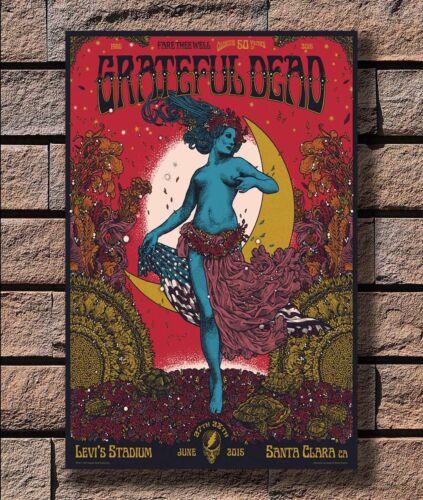 KX133 Grateful Dead Fare Rock Music Band Print 20x30 24x36 40in Silk Poster