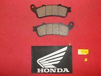 27-124 Honda Front Brake Pads Nss 250 600 Silverwing 2-10 Silverwing 03-14 281