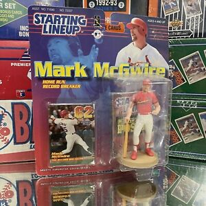 NIB 1999 Starting Lineup MLB St Louis Cardinals Mark McGwire Baseball Toy