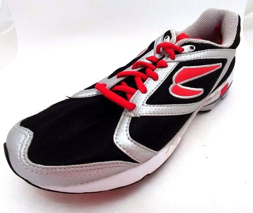 Newton Sir Isaac S Men's Running shoes, Black Red Silver, Size 6.5M, US