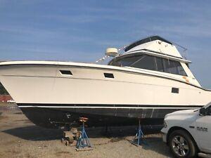 36' Trojan Convertible project boat