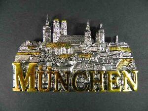 Magnet-Muenchen-Munich-Polyresin-Souvenir-Germany-Deutschland-NEU