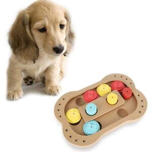 Puzzle Interactive Dog Toy Pet Food Treat Cat Play Fun Playing