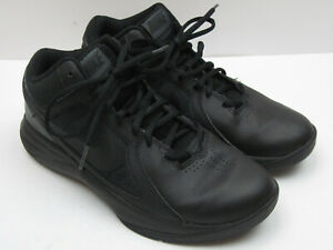 81f2461528f6c Details about Nike Overplay VIII Men's Size 7.5 Black Basketball Shoes 6533