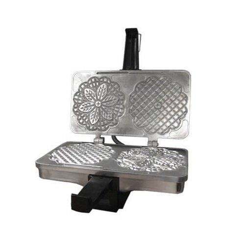 CucinaPro poli cuisine biscuits ou Cannolo Baker italien Gaufre Cookie Maker
