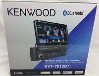 Kenwood Kvt-7012bt 6.95 Bluetooth In-dash Flip-out Dvd Car Stereo Kvt7012bt