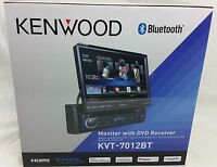 Kenwood Kvt-7012bt 6.95 Bluetooth In-dash Flip-out Dvd Car Stereo Kvt7012bt