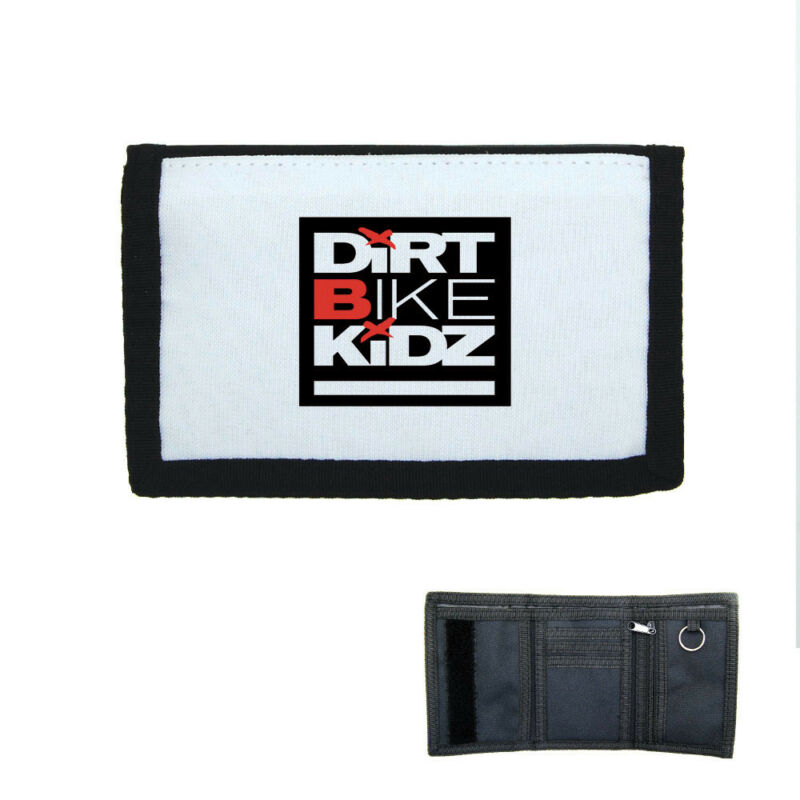 Porte-monnaie à Scratch Portefeuille Dirt Bike Kidz