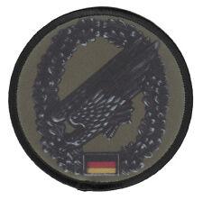 Fallschirmjäger Aufnäher/Patch Bundeswehr/Barettabzeichen/Soldat/Bw/Heer/