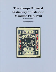 The-Stamps-amp-Postal-Stationery-of-Palestine-Mandate-1918-1948-by-David-Dorfman
