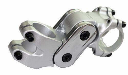"""Potence Contec Cobra 2-fach Réglable 25,4//31,8mm Guidon 1 1//8 /"""" 100 mm Longueur"""