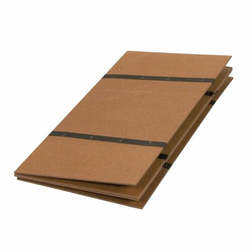 DMI Folding Bed Board for Support Bunky Board Twin Size Brown