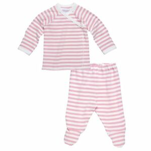 Under-The-Nile-2-Piece-Side-Snap-L-S-Layette-Set-Blush-Off-White-3-6-months