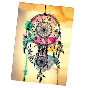 DIY 5D Diamond Painting Kits Full Drill Dream Catcher Embroidery Cross Stitch