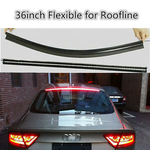 New 36 red led suv car rear window mount roofline brake tail stop image is loading new 36 039 039 red led suv car aloadofball Choice Image